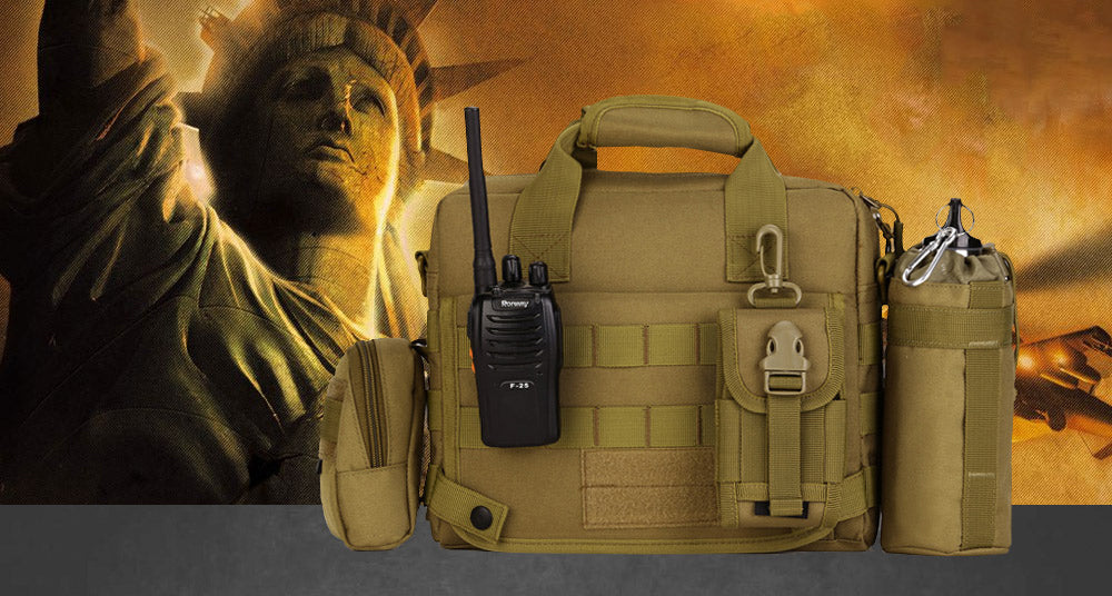 Tactical Messenger Bag Military Briefcase Nylon Waterproof Shoulder Bag