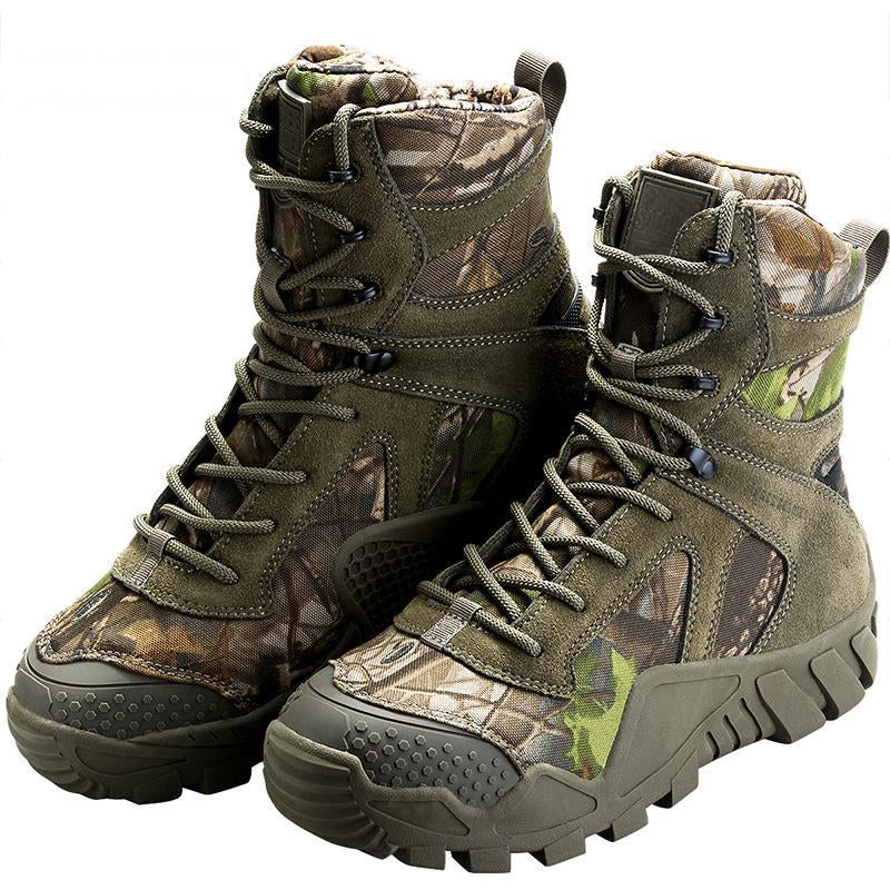 Tactical Military Camouflage Combat Hiking Hunting Boots