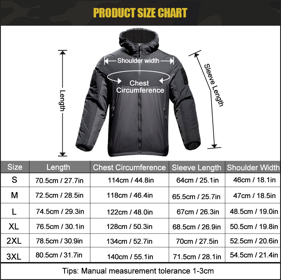 Tactical Military Winter Jacket For Men