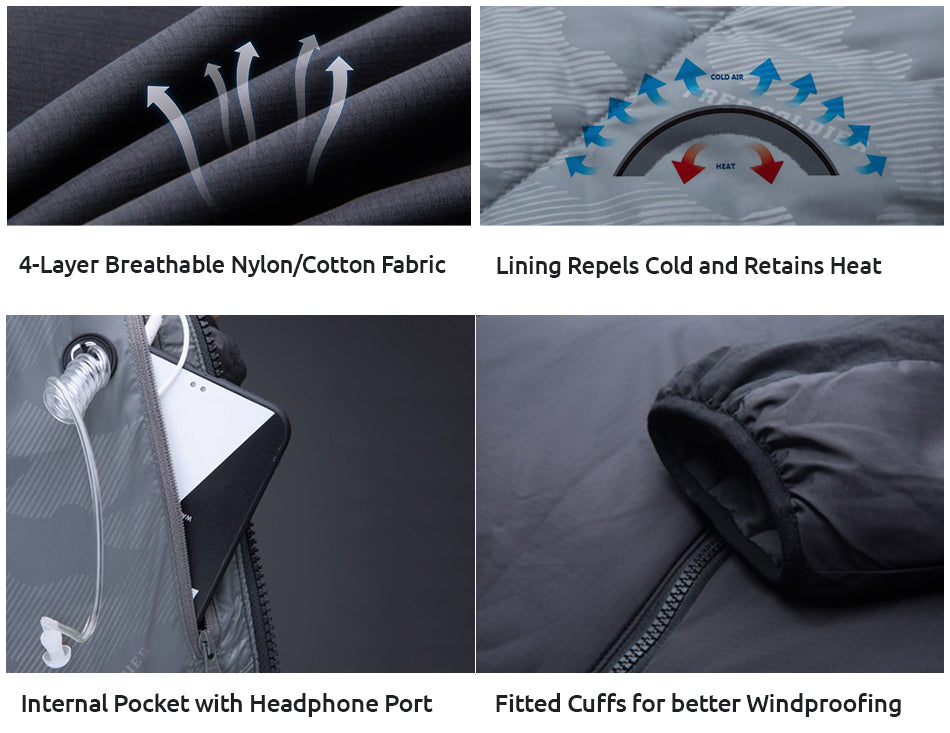 Tactical Thermal Winter Sports Jacket For Men