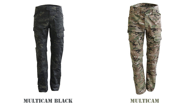 Tactical Multi-Pocket Military Style Camouflage Cargo Pants For Men