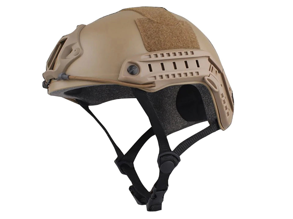 Tactical Ops Helmet High Quality Protective Helmet For Airsoft Paintball Army Combat Games FAST Tactical Lightweight Helmet - 3 Colors