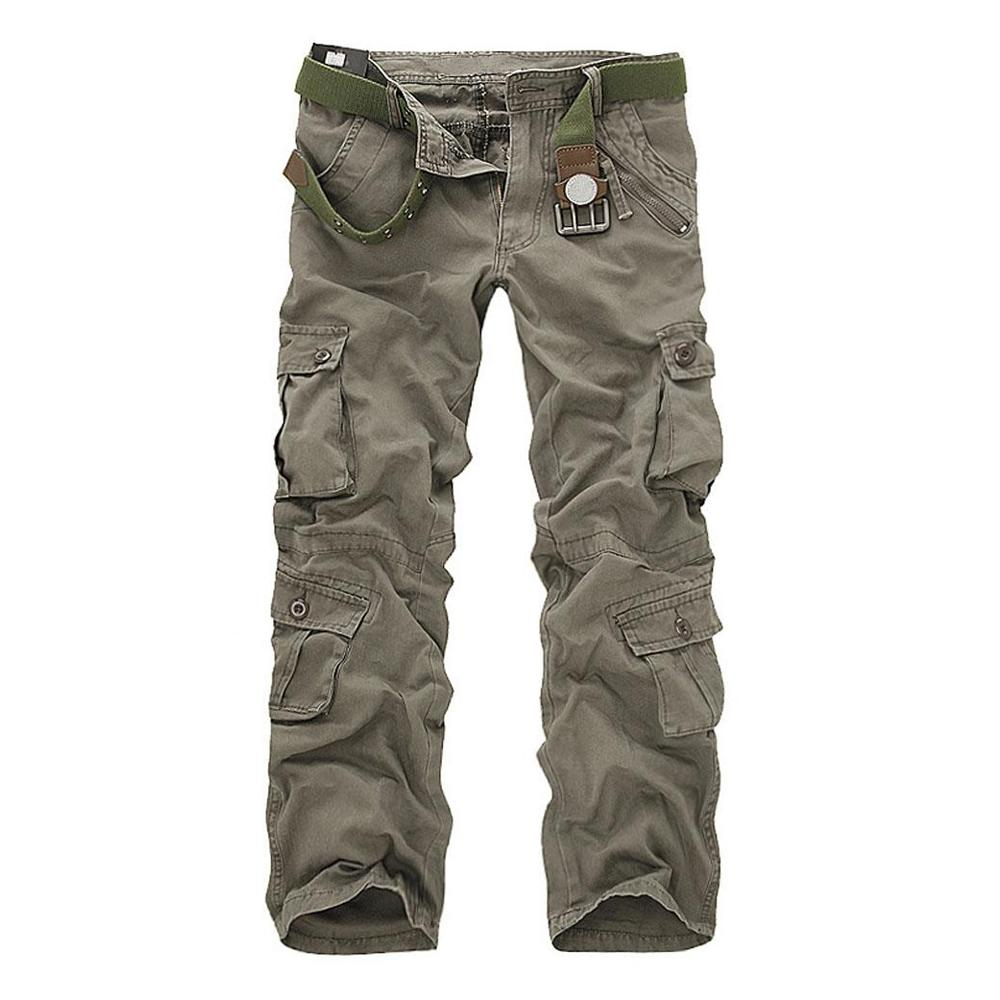 Military Tactical Hiking Cargo Pants Combat Trousers For Men - 7 Colors
