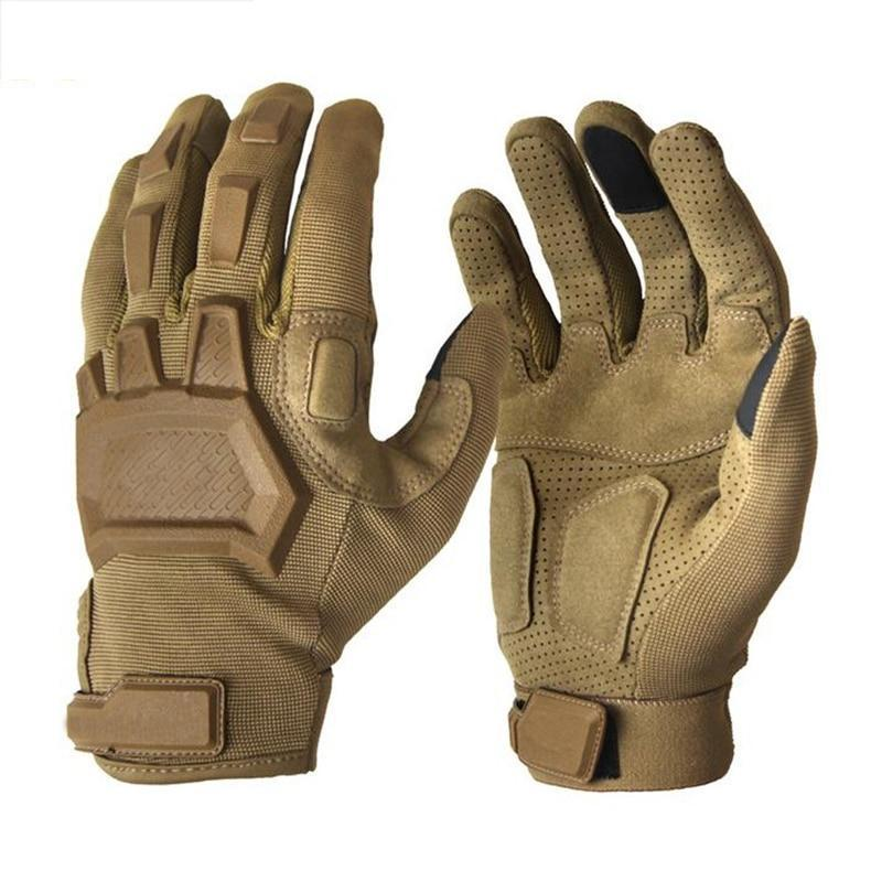 Tactical Touch Screen Compatible Gloves For Airsoft Paintball Military Army Special Forces Armor Anti-Slip MTB Full Finger Tactical Gloves - 3 Colors