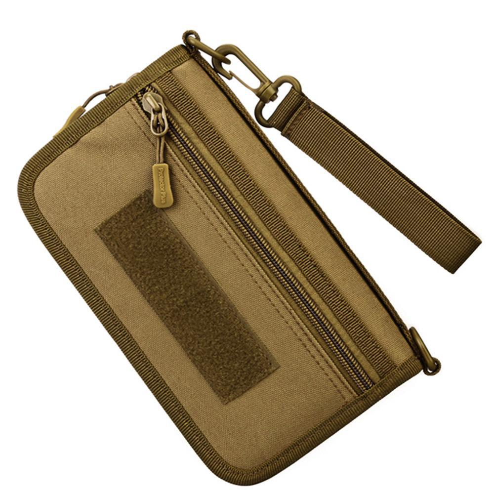 Tactical Travel Wallet Passport Holder Phone Bag Camouflage Nylon Man Bag Travel Purse EDC Accessories Pouch