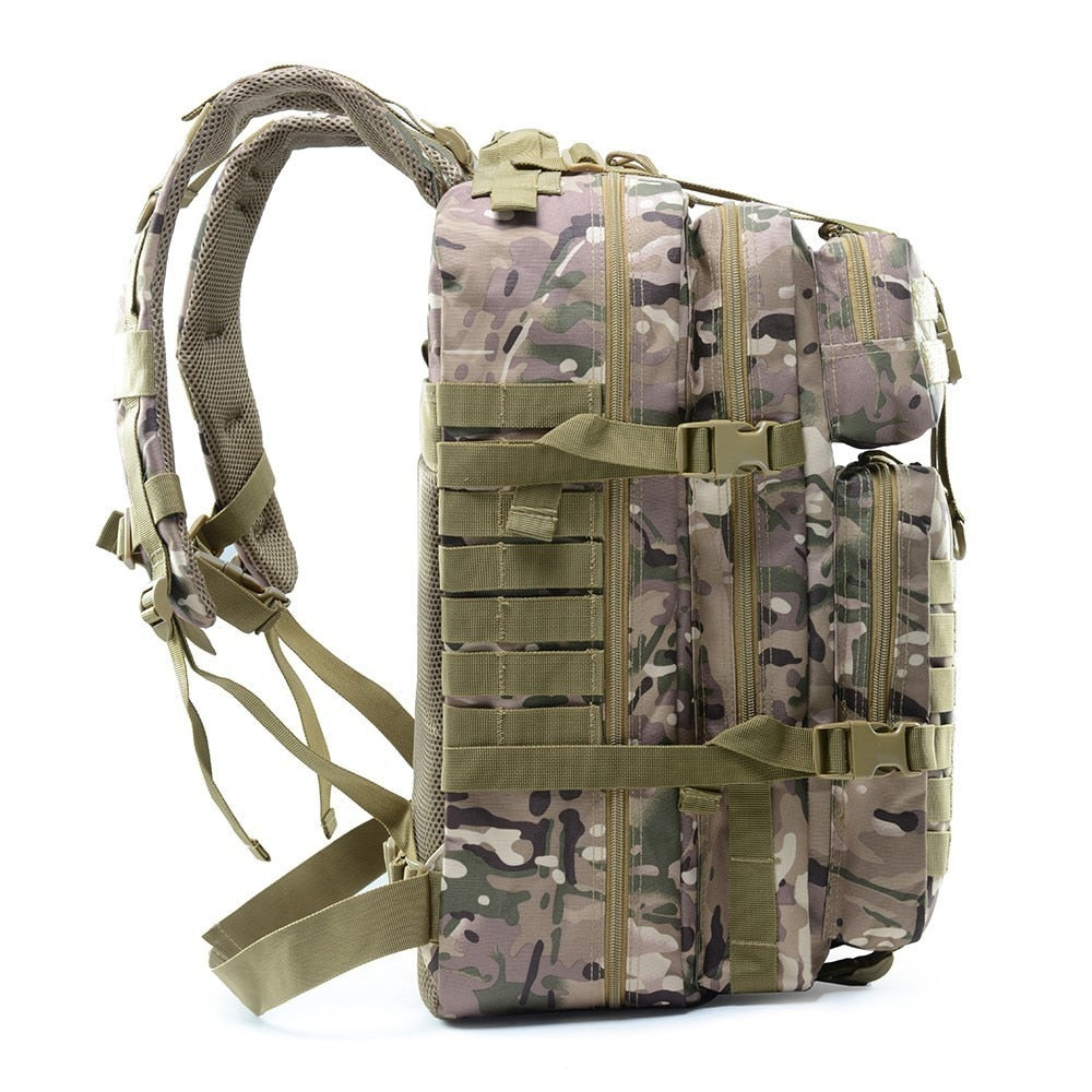 FREE KNIGHT 900D Molle Military Tactical Combat Nylon Canvas Backpack