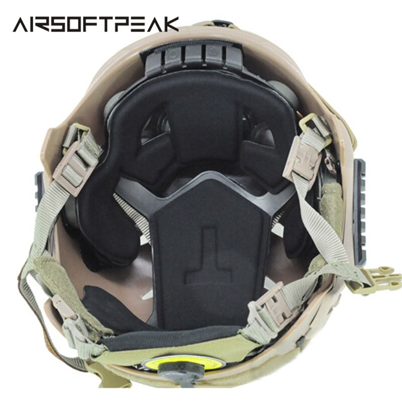 AIRSOFTPEAK EXF Military Tactical Combat Molle Helmet Interior Cushion Protection Pads for Airsoft Paintball