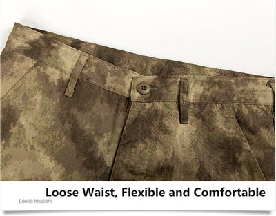 MEGE KNIGHT Military Tactical Combat Polyester Cotton Men's Camouflage Trouser Cargo Pants - 9 Camo Colors