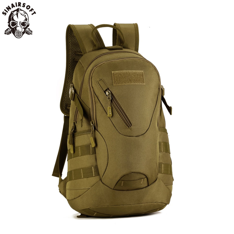 SINAIRSOFT S423 Small Military Tactical Combat Nylon Canvas Backpack