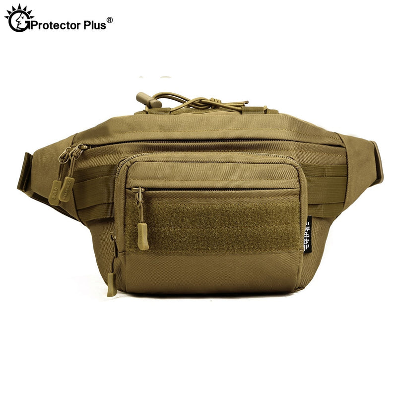 PROTECTOR PLUS LY2059 Molle Military Tactical Combat Nylon Canvas Waist Fanny Pack Bag Pouch