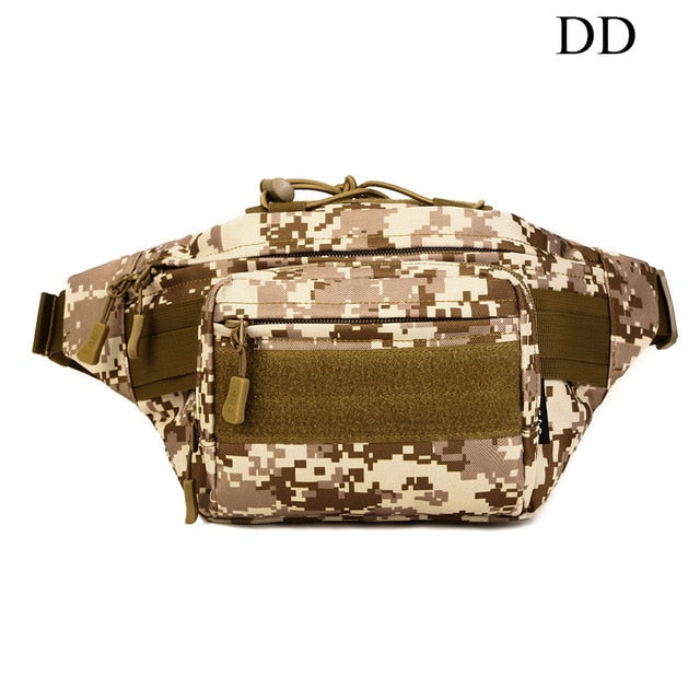 PROTECTOR PLUS Outdoor Tactical Multifunction Waist Pack Military Combat Camping Sport Hunting Bag Waterproof Athletic Chest bag