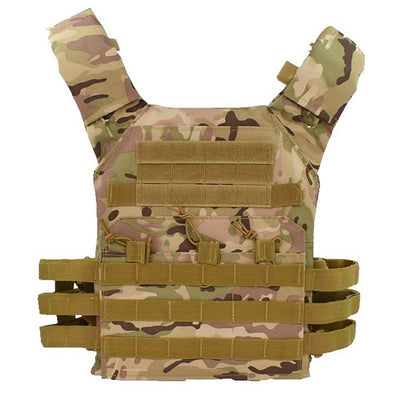 DEMEYSIS Molle Military Tactical Combat Nylon Canvas Vest