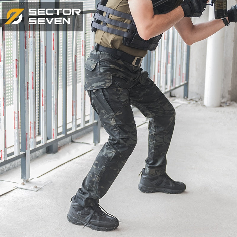 SECTOR SEVEN IX2 Military Tactical Combat Cotton Polyester Camouflage Men's Pants