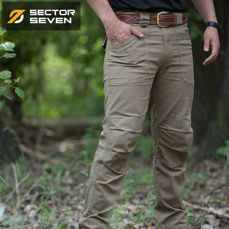 SECTOR SEVEN IX3 Military Tactical Combat Cotton Men's Pants - 4 Colors