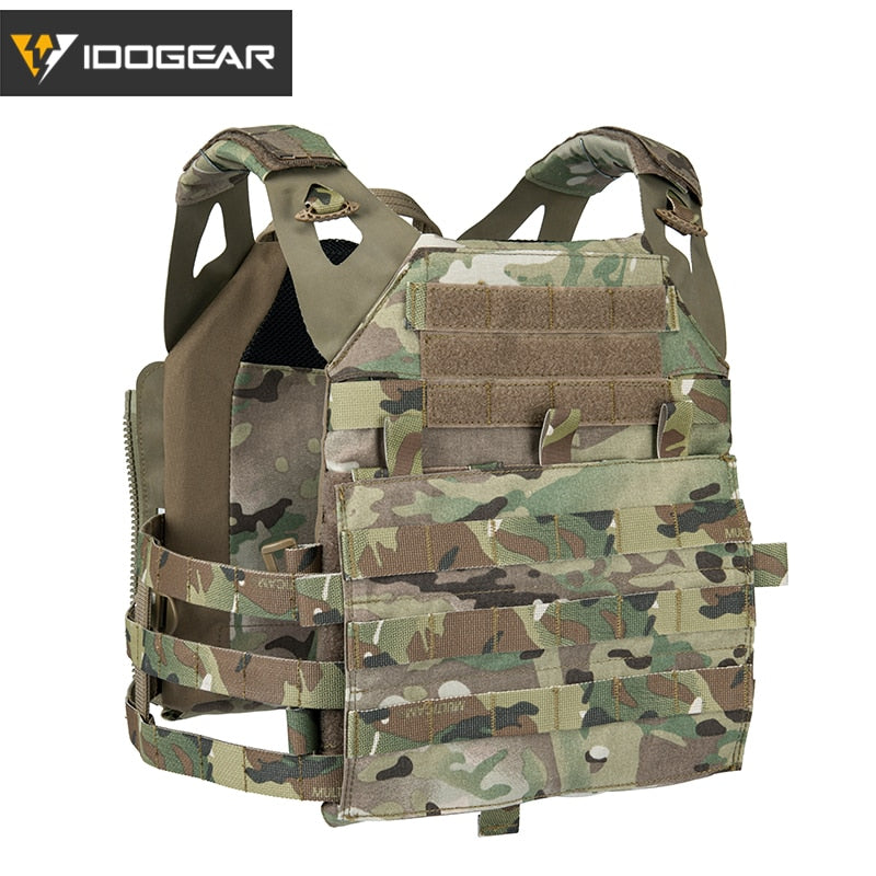 IDOGEAR Tactical JPC 2 Vest Armor Jumper Plate Carrier JPC 2.0 Military Army Molle Hunting Paintball Plate Carrier 3312