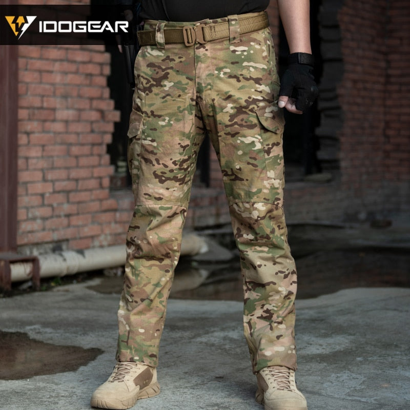 IDOGEAR GL 3204 Military Tactical Combat Cotton Polyester Camouflage Men's Pants - 2 Camo Colors