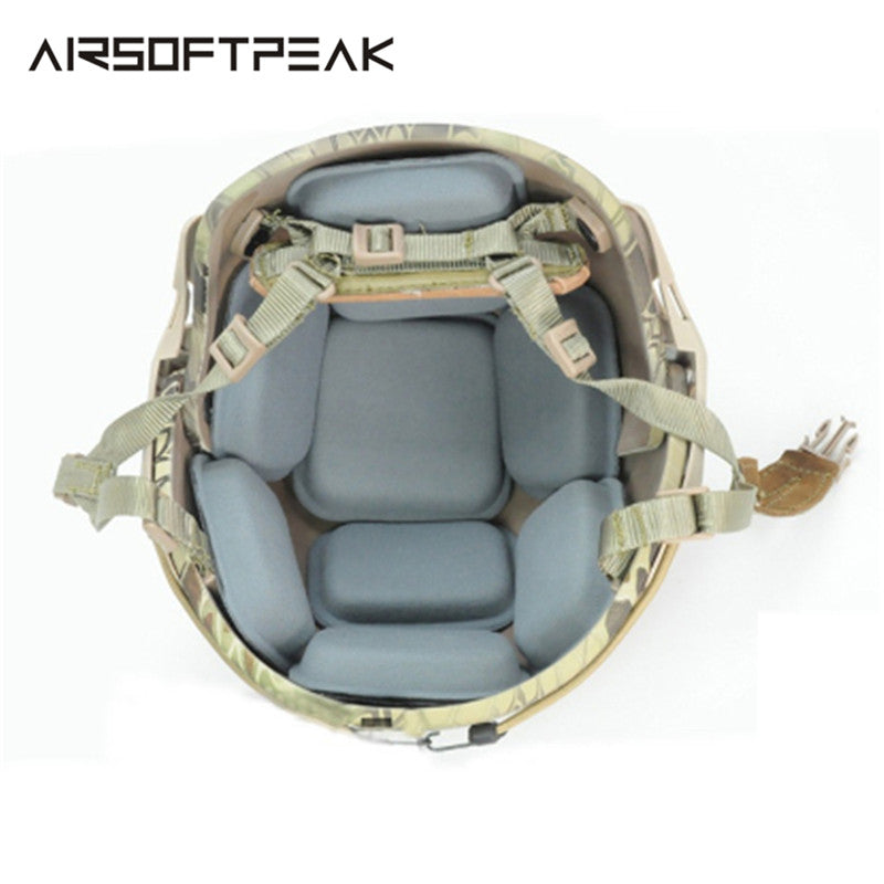 AIRSOFTPEAK FMA Military Tactical Combat Molle Helmet Interior Cushion Protection Pads for Airsoft Paintball