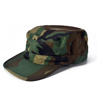 Camouflage Army Hat Military Tactical Headwear Hiking Hunting Cap Camping Hat - Black, CP Camo, Jungle Camo