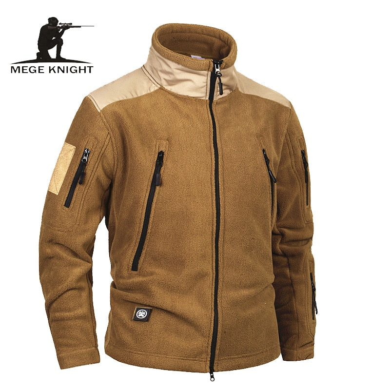 MEGE KNIGHT Military Tactical Combat Men's Fleece Jacket - 4 Colors
