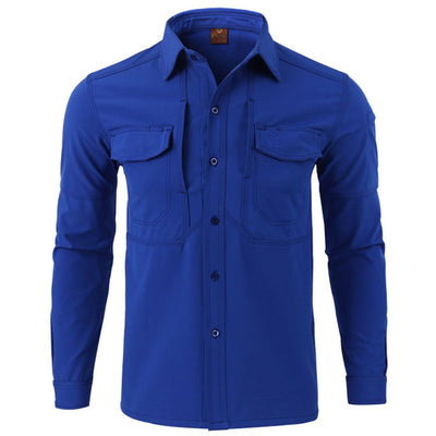 ESDY Military Tactical Combat Softshell Polyester Men's Long Sleeve Shirt - 7 Colors