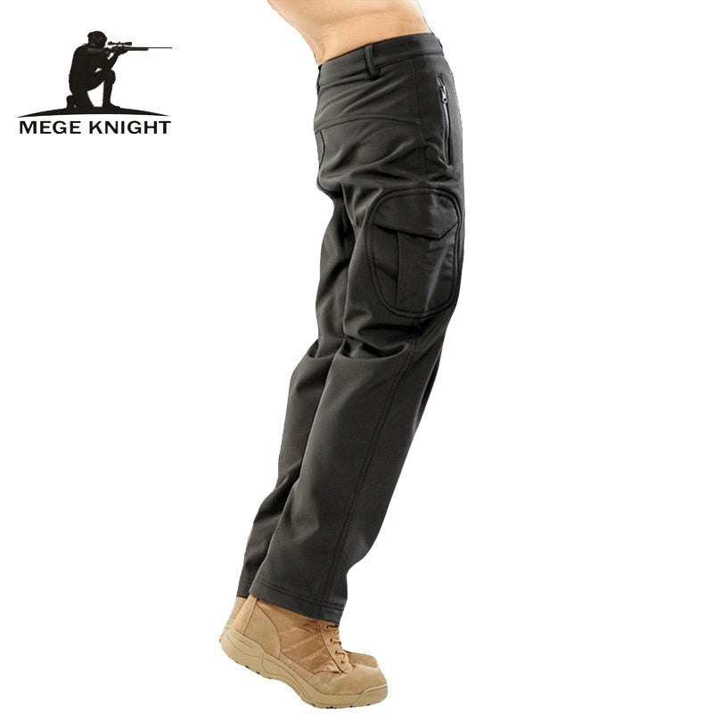 MEGE KNIGHT Military Tactical Combat Polyester Softshell Men's Camouflage Trouser Cargo Pants - 14 Camo Colors