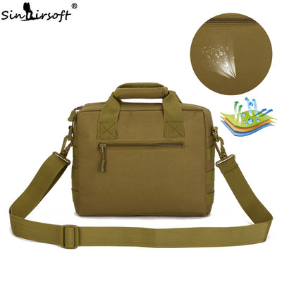 "SINAIRSOFT 10""x9"" (27x23cm) Molle Military Tactical Combat Nylon Canvas Messenger Hand Bag"