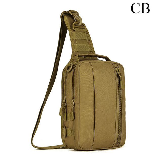 Military Tactical Multi-Functional MOLLE Messenger Bag Backpack Crossbody Shoulder Bag Handbag Fits 10