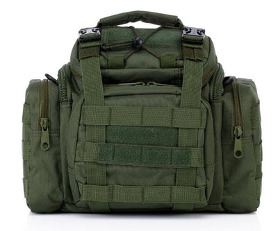 "SCIONE 15""x8""x7"" (38x21x18cm) Molle Military Tactical Combat Nylon Canvas Duffle Hand Bag"