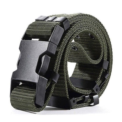 Tactical Military Belt Quick Dry Quick Nylon Webbing With Release Buckle US Soldier Tactical Belt Combat Paintball Army Belt 5.5cm - 3 Colors