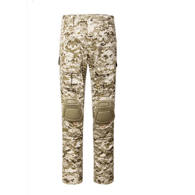 MEGE KNIGHT Military Tactical Combat Poly/Cotton Men's Camouflage Trouser Cargo Pants - 12 Camo Colors