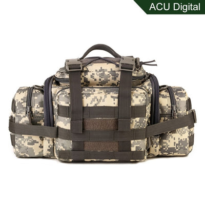 "SCIONE 16""x10""7""  (40x25x18cm) Molle Military Tactical Combat Nylon Canvas Duffle Hand Bag"
