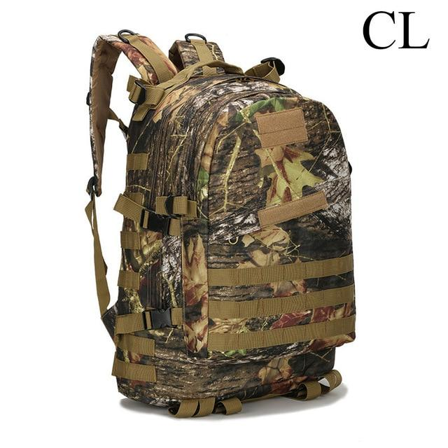 Tactical MOLLE 40L Military Backpack Day Pack For Climbing Mountaineering Camping Hiking Travel Trekking Rucksack Laptop Backpack - 14 Colors