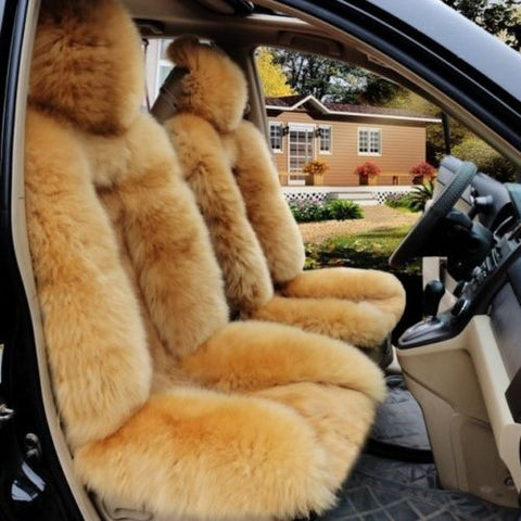 Luxury Fur Car Seat Covers