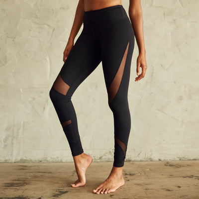 Culture Fit Black Magic Leggings Side View