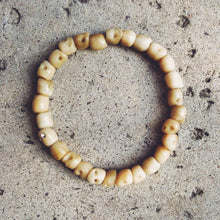 Custom Skull Bracelet in Bone Color