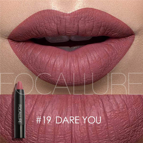 New Sexy Nude Lipstick Waterproof Lip Pencils Beauty Batom Velvet Matte Lip Stick Tattoo