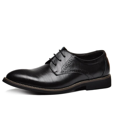 Genuine Leather Mens Dress Shoes