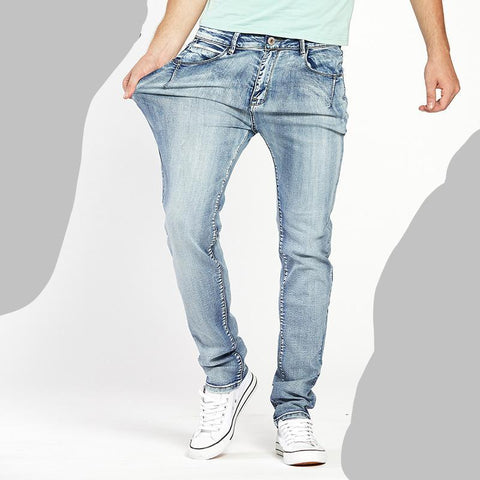 Drizzte Brand Mens Jeans Trendy Stretch