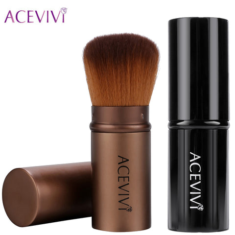 ACEVIVI Retractable Kabuki Brush Concealer Foundation