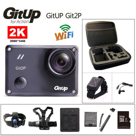 Action Camera Original Ultra HD 2K WiFi 1080P Waterproof