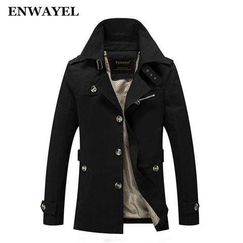 Spring Autumn Jacket Men Slim Fit
