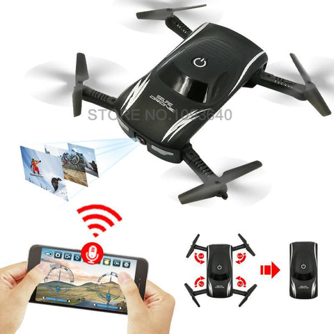 Global GW186 Mini Selfie Drone Voice Phone Control
