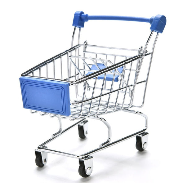 Colourful Mini Supermarket Trolley