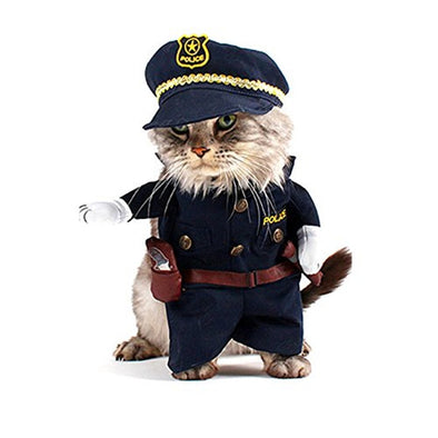 Policeman Style Pet Costume