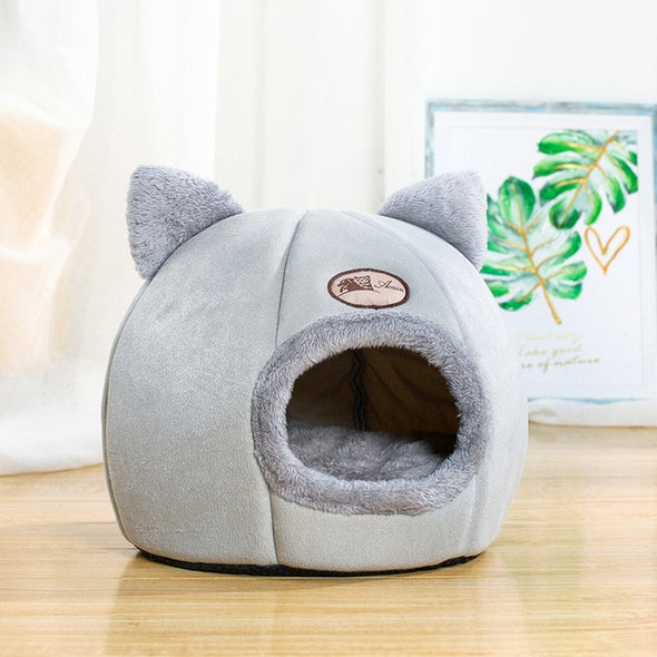 New Deep sleep comfort in winter cat bed little mat basket  small dog house  products pets tent cozy cave beds Indoor cama gato
