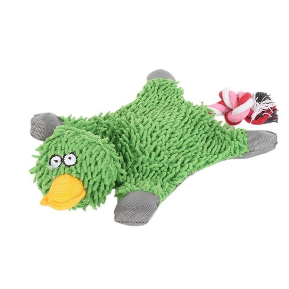 Cute Papa Duck Dog Toy With Rope