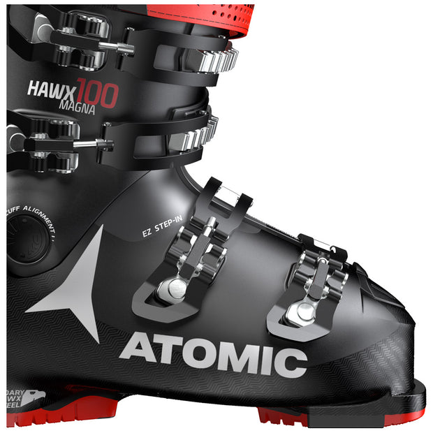 HAWX MAGNA 100 BLACK RED - CHAUSSURES DE SKI, LANCHES