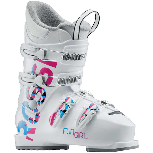 JUNIOR FUN GIRL J4 WHITE - CHAUSSURES DE SKI, LANCHES