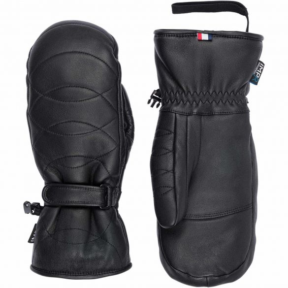 W SELECT LEATHER IMPR MITTENS - GANTS, LANCHES