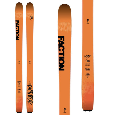 FACTION DICTATOR 3.0 - SKIS, LANCHES